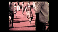 Stock Video Footage of Morning exercise at Mbulu native school, Tanzania 3 1937