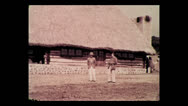 Stock Video Footage of Clowing around at Mbulu native school, Tanzania 1937
