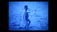 Stock Video Footage of Maasai child, Tanzania 1937