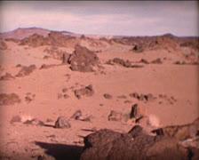 8MM SPAIN landscape of Tenerife Island Stock Footage