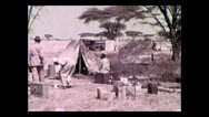 Stock Video Footage of Camp kitchen, Tanzania 1937