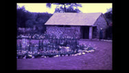 Stock Video Footage of Namanga guest house gardens, Tanzania 1937