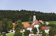 Stock Photo of Germany, Bavaria, Gangkofen, St. Salvator, Pilgrimage Church