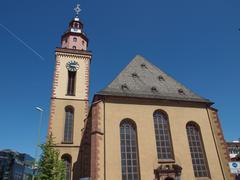 Stock Photo of st paul church frankfurt