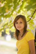 Stock Photo of Austria, Female teenager (14-15), portrait