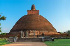 Jethawanaramaya dagoba (stupa). anuradhapura, sri lanka Stock Photos