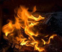 Burning Stock Photos