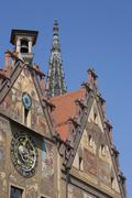 Stock Photo of Germany, Ulm, Astronomic clock on town hall