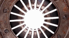 Stock Video Footage of real used clutch