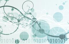 Medical science technology Stock Illustration