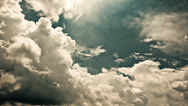 Stock Video Footage of Cinematic Clouds