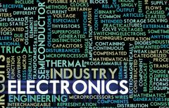 Electronics industry Stock Illustration