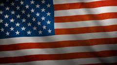 United States Flag - stock footage