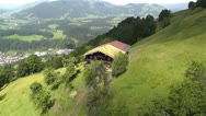 Stock Video Footage of European Alps Kitzbuhel Austria Aerial 62