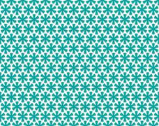Stock Illustration of ancient cross pattern emerald color