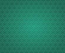 Stock Illustration of green ancient cross pattern