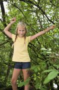 Stock Photo of Austria, Mondsee, Portrait of girl (12-13 Years)