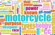 Stock Illustration of motorcycle hobby