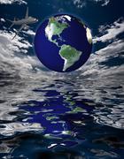 Global Travel Stock Illustration