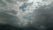 Stock Video Footage of European Alps Summer Clouds Timelapse 8