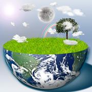 Eco Stock Illustration