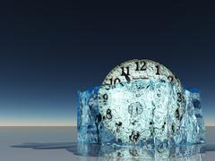 Stock Illustration of frozen time