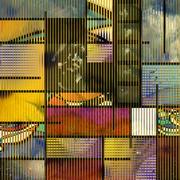 mondern art based abstract - stock illustration