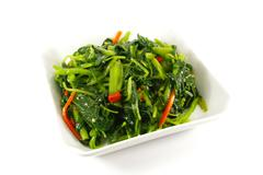 healthy greens steamed vegetables - stock illustration