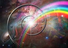 Time space Stock Illustration