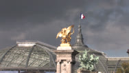 Stock Video Footage of Petit Palais in Paris