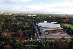 Mexico city view Stock Photos