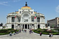 The fine arts palace/palacio de bellas artes Stock Photos