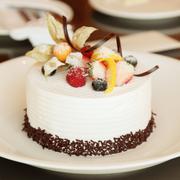 hotel cake - stock photo