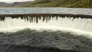 Stock Video Footage of Water dam