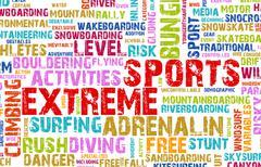 extreme sports - stock illustration