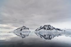 South Atlantic Ocean, Antarctica, Antarctic Peninsula, Lemaire Channel, View - stock photo
