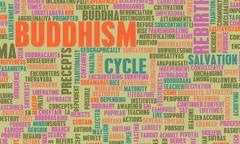 buddhism - stock illustration