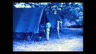 Stock Video Footage of Returning to camp, Tanzania 1937