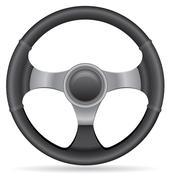Stock Illustration of car steering wheel illustration