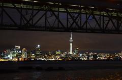 Auckland city Stock Photos