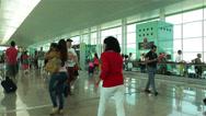 Stock Video Footage of Barcelona Del Prat International Airport Catalonia Spain 10