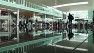 Stock Video Footage of Barcelona Del Prat International Airport Catalonia Spain 11