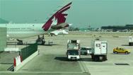 Stock Video Footage of Barcelona Del Prat International Airport Catalonia Spain 20