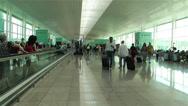 Stock Video Footage of Barcelona Del Prat International Airport Catalonia Spain 21