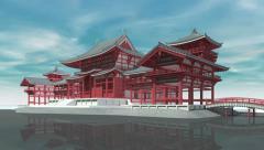 Tōdai-ji temple (Daibutsu), Nara Stock Footage