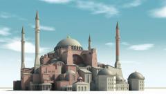 Hagia Sophia - stock footage