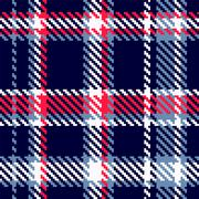 Seamless checkered pattern - stock illustration