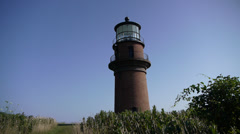 Gayhead Lighthouse Stock Footage