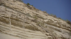 Beach Erosion Cape Cod - stock footage