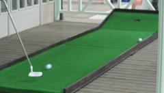 Golf 2 Stock Footage